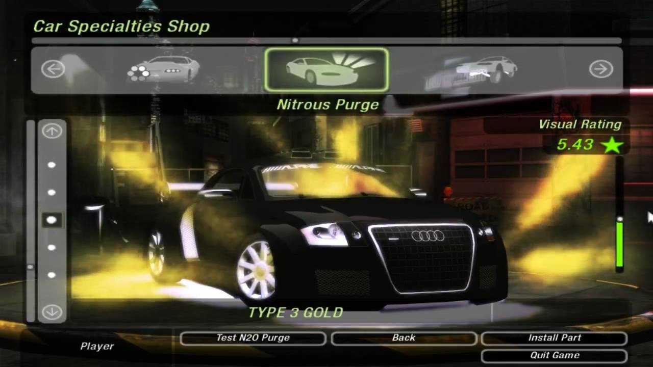 Need For Speed Underground 2 Audi Tt Tuning And Race