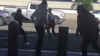 Tekashi69 fight at lax airport