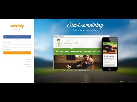 Beginners Guide To Making Websites With Weebly