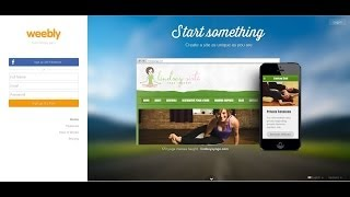 Beginner's Guide to Making Websites with Weebly 2014