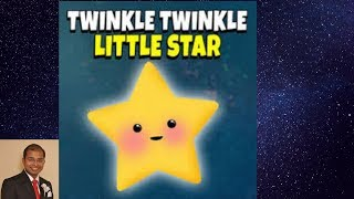 Mouth organ, music video for kids, nursery rhymes with lyrics, twinkle twinkle little star