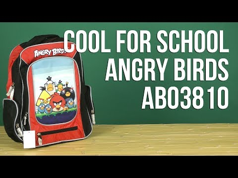 Распаковка Cool For School Angry Birds AB03810