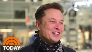 Elon Musk Plans SpaceX Mission With All-Civilian Crew | TODAY
