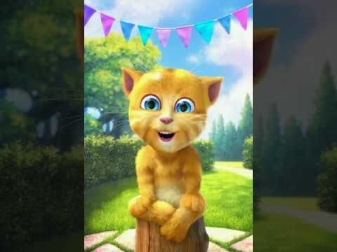 Happy Birthday Song - Talking Cat | Kid Songs | Birthday Song  | English