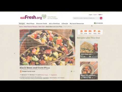 How to Use EatFresh.org