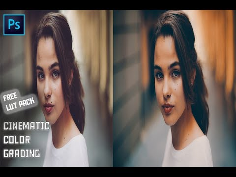 Best Free Cinematic Lut Pack For Photoshop Free Download Youtube