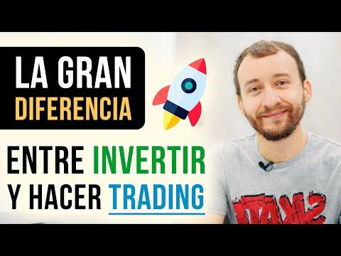La Gran Diferencia Entre Invertir Y Hacer Trading