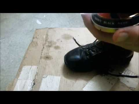 How To Spit Shine Your Boots In Under 10 Minutes!!!!!