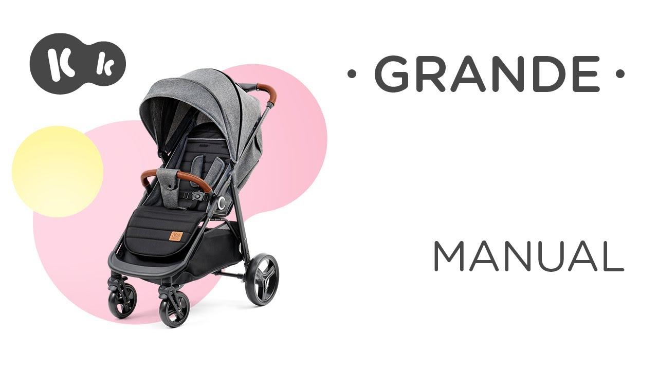 01087d6cc48 Бебешка количка Grande - KinderKraft | Бебешки колички | Bebbo.bg