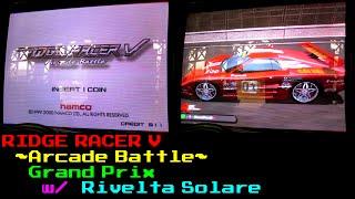 [Ridge Racer V: Arcade Battle] Grand Prix Playthrough w/ Rivelta Solare [Real Arcade]