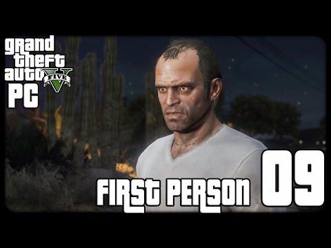 GTA V PC First Person 1080p60 w/Facecam WT #9 - تختيم حرامي السيارات الخامس - الصديق القديم