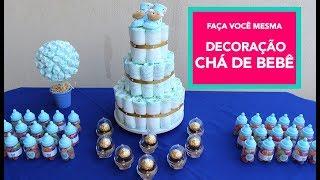 4 DIY CHÁ DE BEBÊ - DECORAÇÃO E LEMBRANCINHA MP3