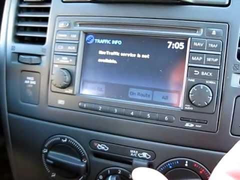 2010 Nissan Versa Navigation Demo Mike Barney Nissan Youtube
