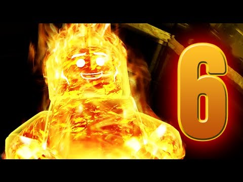 LEGO Marvel Super Heroes Movie Walkthrough 06 HD1080p - HumanTorch Hawkeye  - No Commentary