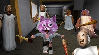 INVASION EAGERLY ASK in ROBLOKSE! GRANNY CHALLENGE-TRY to SURVIVE roblox granny challenge