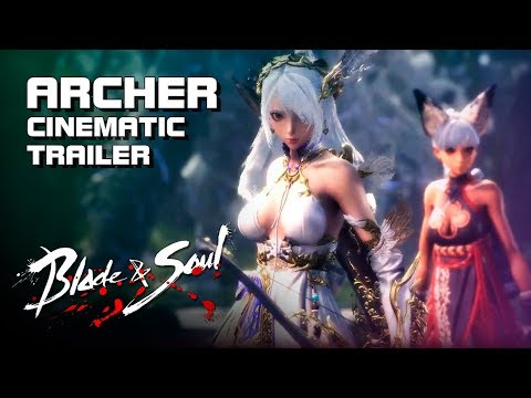 Blade & Soul - Archer: Bow of the Dawn - Full CG Trailer (60fps) - New Class - PC - F2P - KR