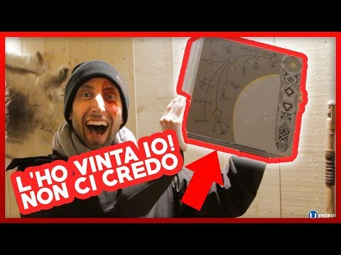 HO VINTO UNA PS4 di GOD OF WAR !!