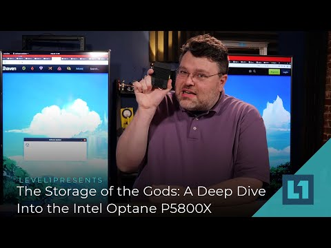 The Storage of the Gods: A Deep Dive Into the Intel Optane P5800X