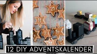 12 DIY Adventskalender & Ideen für Adventskalenderfüllung