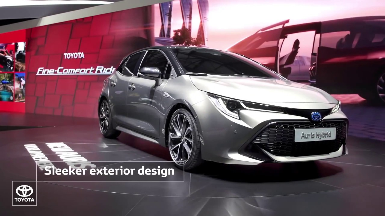 2019 toyota auris revealed at the 2018 geneva motor show. Black Bedroom Furniture Sets. Home Design Ideas