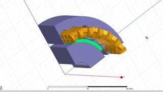 Видеоурок CADFEM VL1421 - Постпроцессинг результатов моделирования электрических машин
