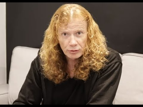 "Dave Mustaine on another Big 4 tour ""there's one person holding it up for everybody"""