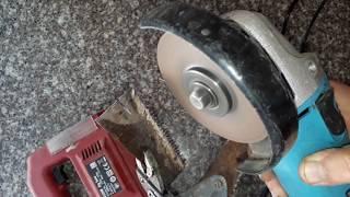 Dekupaj Testere Değişimi - Dekupaj Testere Tezgahı Yapımı - Dekupaj Testere Bıçağı Nasıl Takılır