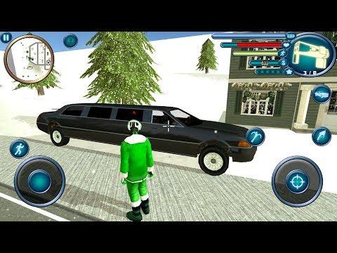 Crime Santa Claus Rope Hero Vice Simulator (by Wallace Lieakote) Android Gameplay [HD]