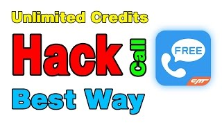 Free Call all over the world with Whatscall Unlimited credits Trick