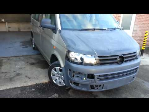 How to, VW T5 2005 Facelift Conversion get that 2010 look