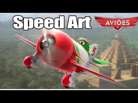 SpeedArt - Aviões Disney TRAVEL_VIDEO