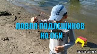 Рыбалка с сыном на Оби летом Зелёный мыс Поймали немного подлещиков