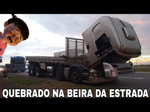 DEU RUIM!! BESOURINHO QUEBROU NA BEIRA DA ESTRADA 😭