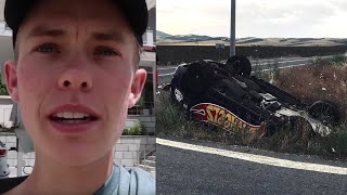Tanner Fox Releases STATEMENT On Gumball CRASH