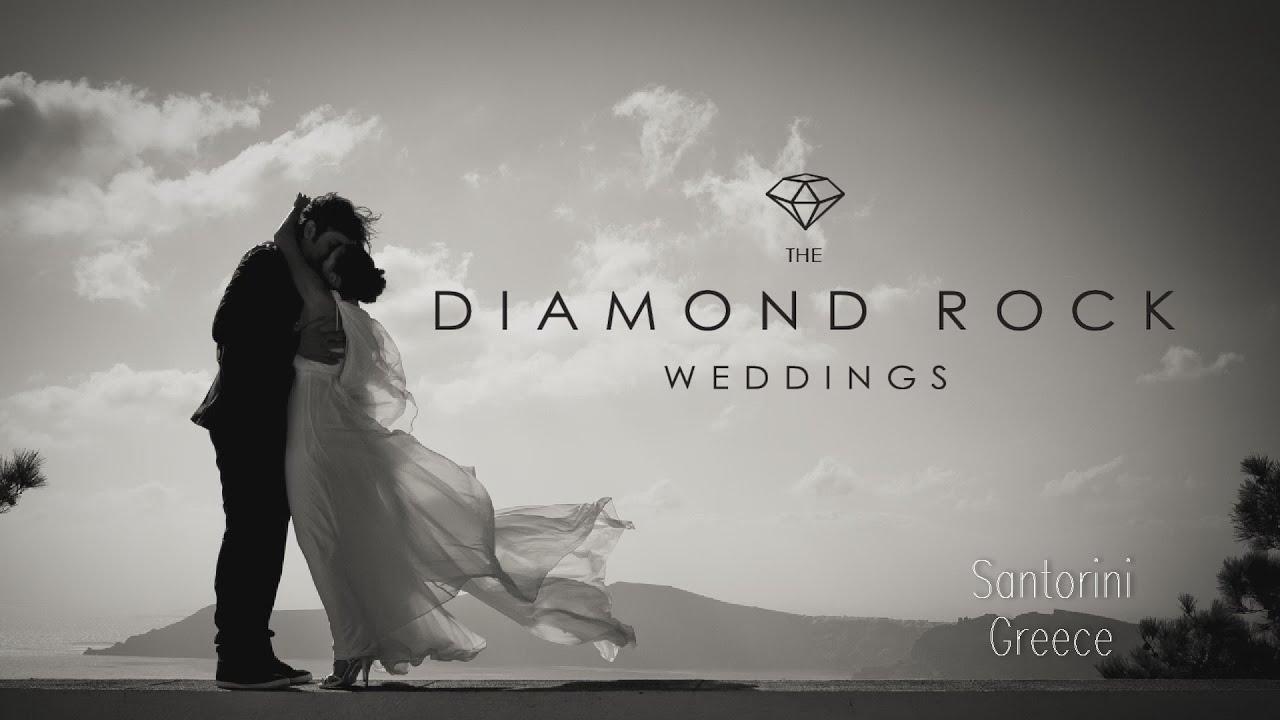 The Diamond Rock Santorini Weddings Wedding planners in