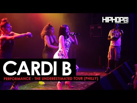 Cardi B Performance in Philly The