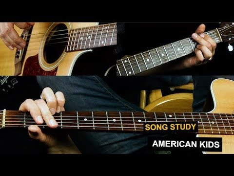 American Kids Guitar Lesson - Kenny Chesney - Solo Included