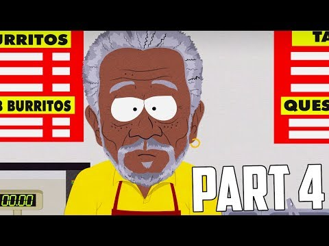 South Park: The Fractured But Whole Gameplay Walkthrough Part 4 - Morgan Freeman [PC]