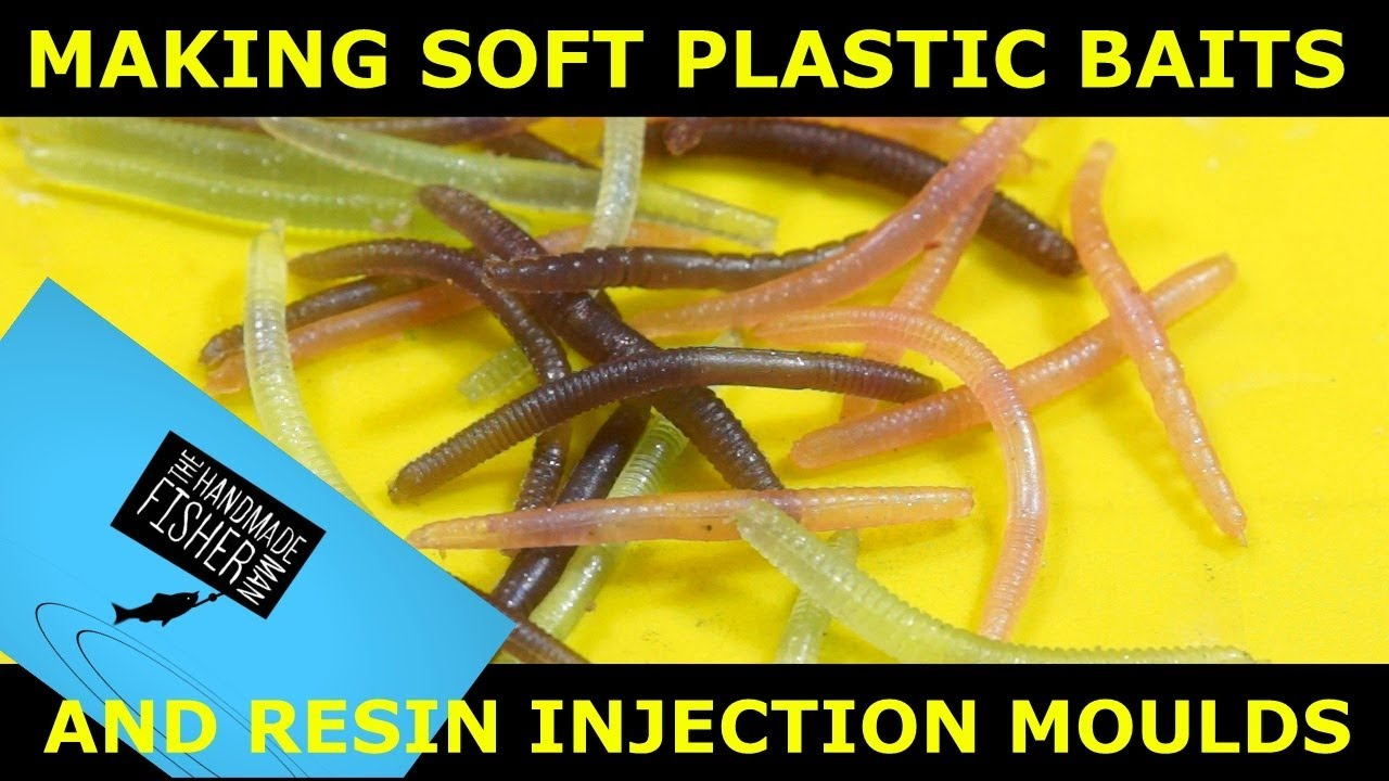 Making bulk soft plastic baits and Resin injection moulds