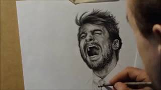 Daniel Radcliffe - portrait (speed drawing / timelapse)