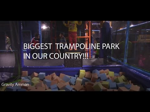 BIGGEST TRAMPOLINE PARK IN OUR COUNTRY!!!! - Gravity Amman -