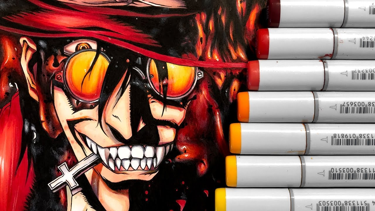Alucard Pics drawing alucard from hellsing (+giveaway)