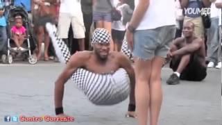 Il più pazzo artista di strada mai visto a New York!