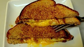 Fried Egg and Cheese Sandwich for Students