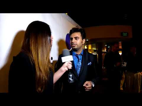 Filmmaker Mohit Arrora interviewed by VIP TV's journalist Jennifer | Miami, USA | Part 1