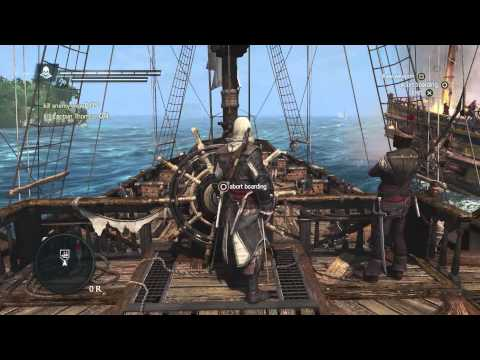 Assassin's Creed 4: Black Flag - Naval Experience Gameplay Trailer - Eurogamer