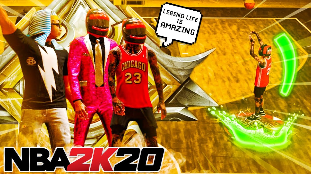 The life of 3 legends in stage is so amazing... I cried 😥 (nba 2k20)