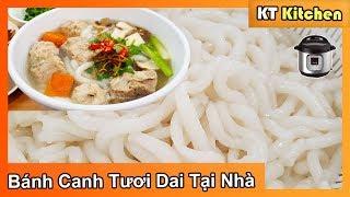 BÁNH CANH SƯỜN HEO Instant Pot || Cách Làm Bánh Canh Tươi Dai Ngon Tại Nhà | Vietnamese Udon Soup