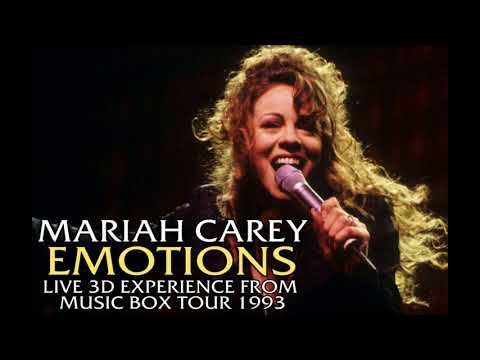 Emotions  Mariah Carey   Music Box Tour 1993 3D Experience