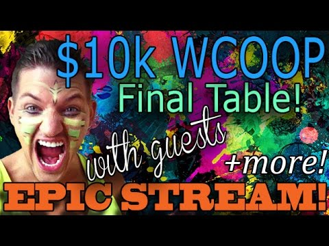 WCOOP $10k Event Final Table And Yaaarny WCOOP Final Table Joined By Klink, Dankness, Jnandez, SRP